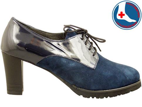 Анатомични дамски обувки с иновативната визия и връзки z619403vls