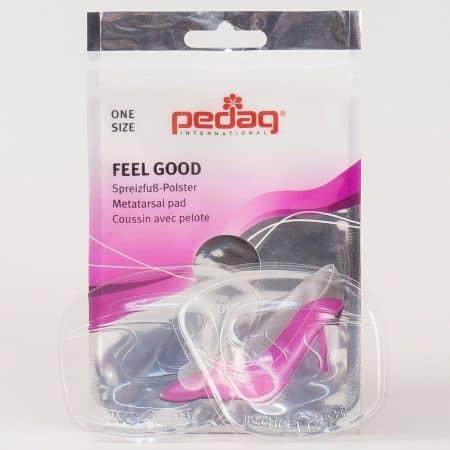 Силиконова възглавничка Pedag FEEL GOOD за напречен свод и високи обувки p-173