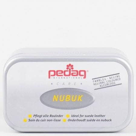 Специална гъбичка Pedag NUBUK почистваща велур и набук на марката Pedag p-643