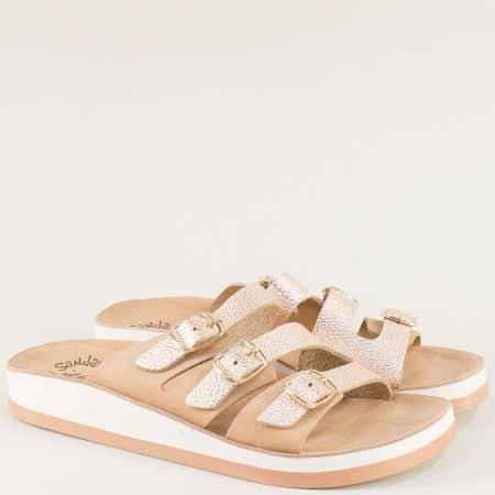 Дамски чехли в розов цвят- FANTASY SANDALS s3008rz