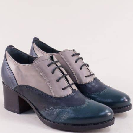 Дамски обувки в зелено, бежово, синьо и черно texy91ps