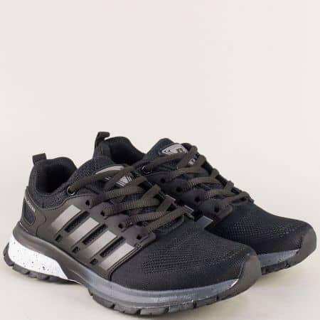 Дамски маратонки- BULLDOZER в черен цвят v81001-40ch