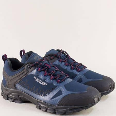 Мъжки маратонки- BULLDOZER в тъмно син цвят v820199-45s