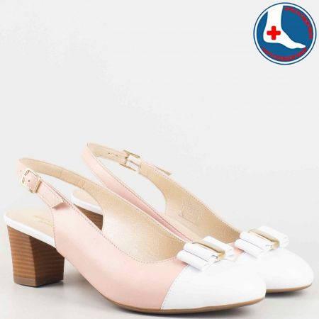 Дамски обувки на среден ток анатомични, произведени от Naturelle z1225rz