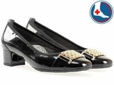 Стилни и комфортни дамски обувки с ефектна тока Naturelle z7089lch
